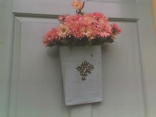 Blumen an der tur