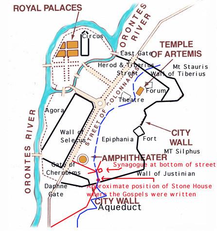 Antioch Ancient Map | JJ B. | Flickr