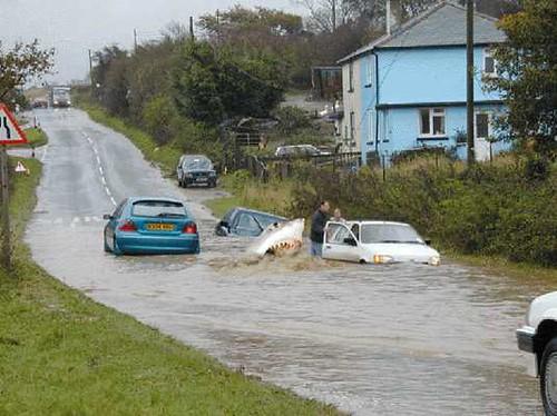 Flash floods ?