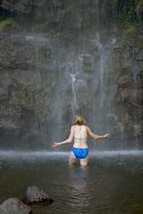 Praying to the Falls