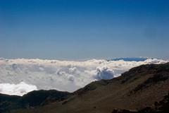 Mauna Kea from Haleakalā