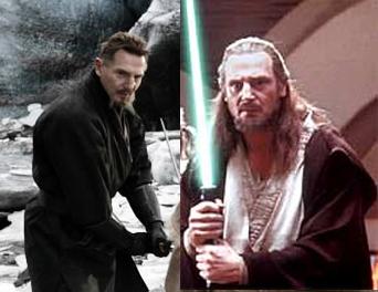 Fidel Castro And Liam Neeson