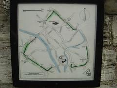 Map of York City Walls