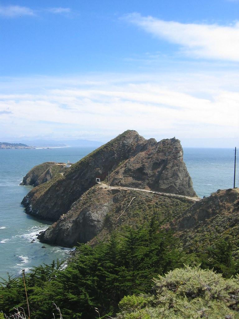 The Marin Headlands.