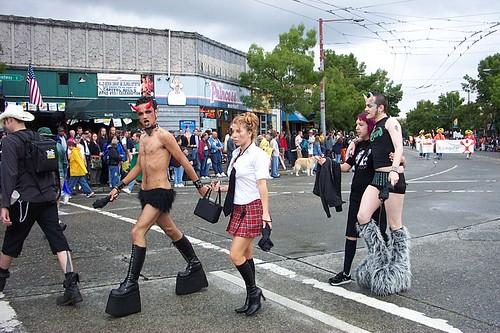 Seattle Gay Pride Parade, Seattle, WA