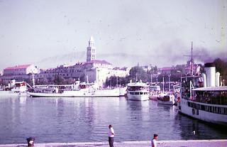 Split Harbour, Croatia 1963