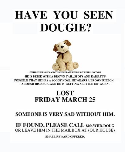 marla's dougie poster