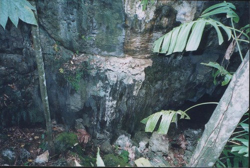 Entrance of a Cave at Quiniput