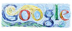 Google Van Gogh Logo