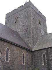 Tŵr yr eglwys, Llanbadarn Fawr