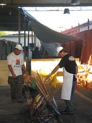 Grilling at the Rio Grande Fish Festival