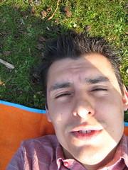 At sunny Wilhelmina park