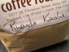 Stumptown Rwanda Karaba