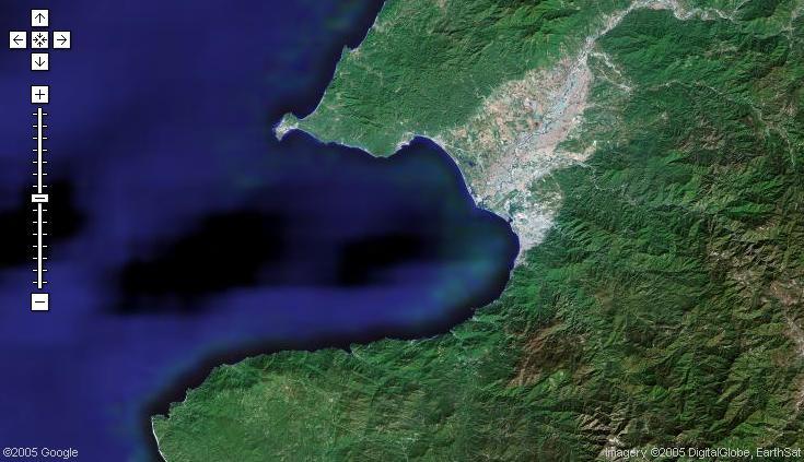 Vista Satelital de Puerto Vallarta