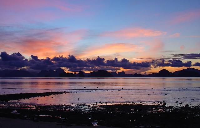 Sunrise over Krabi, Thailand