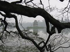 El lago que calma Hanoi