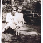 Phyllis Johnson and mother Alma
