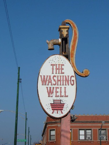 The Washing Well sign | by repowers