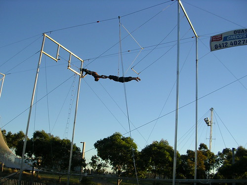 Trapezing with friends - Tooley | by Tooley