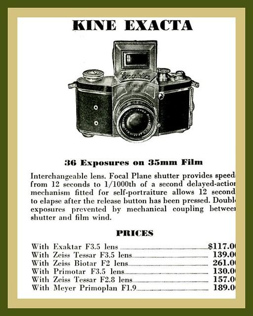 Classic Camera Add 1941