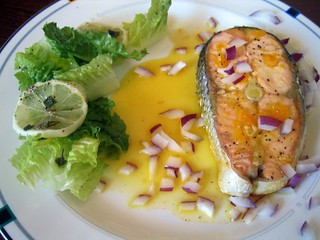 Salmon In Orange Juice