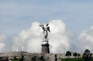 Virgin of Quito statue