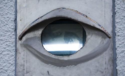 Self Portrait in Surveillance Camera | by Thomas Hawk