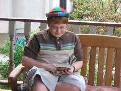 Sat, 2006-04-22 12:18 - Fenton's a reader