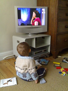 Felix watches TV | by schlunzi