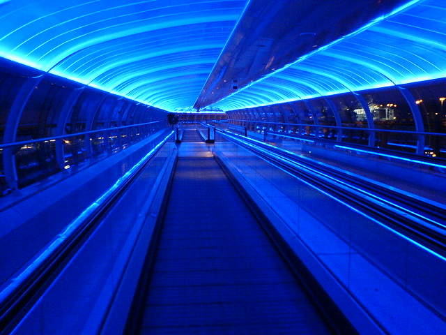 Manchester Airport Travelator