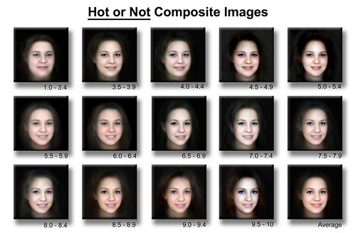 Attractive Face Scale | by manitou2121