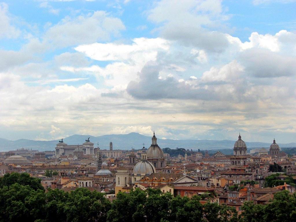 Roma Dalla Terrazza Di Castel Sant Angelo Iessi Flickr