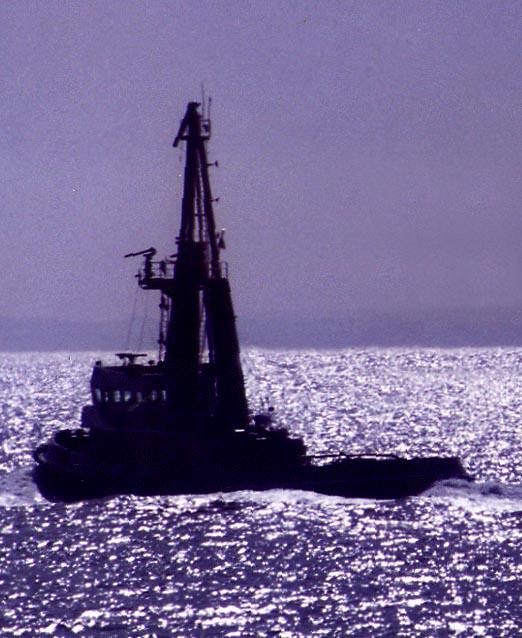 Tug off Firth of Forth - Scotland