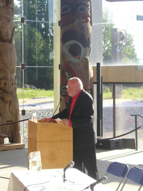 """Dennis Sharp Speaking at """"Dialogue of Cities: Vancouver Viewed and Reviewed"""""""