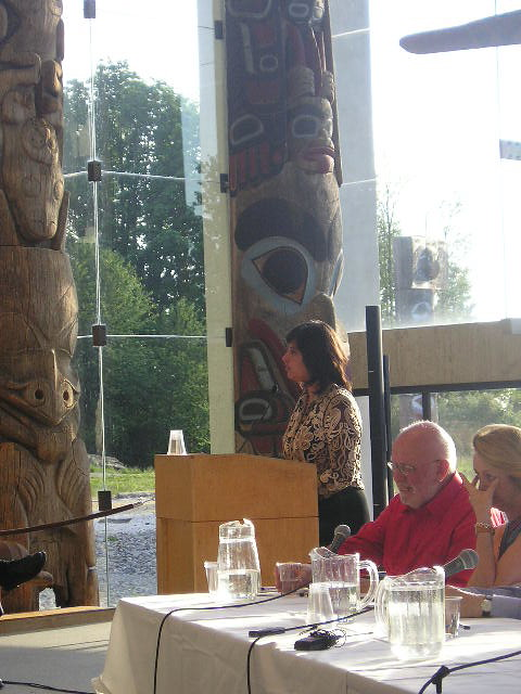 """Yasmin Shariff Speaking at """"Dialogue of Cities: Vancouver Viewed and Reviewed"""""""