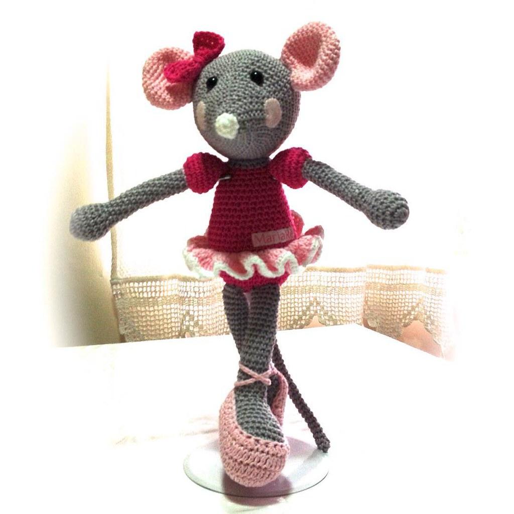 Ratinha Coleção amigurumi no Elo7 | Crochetados por Angela Witt ... | 1024x1024