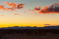 red clouds in Arizona