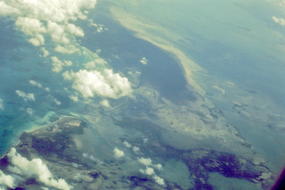 Jamaica from the air, 1971