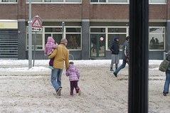 snowy Den Haag