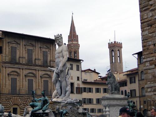 Fontana del Nettuno a Firenze (Toscana)