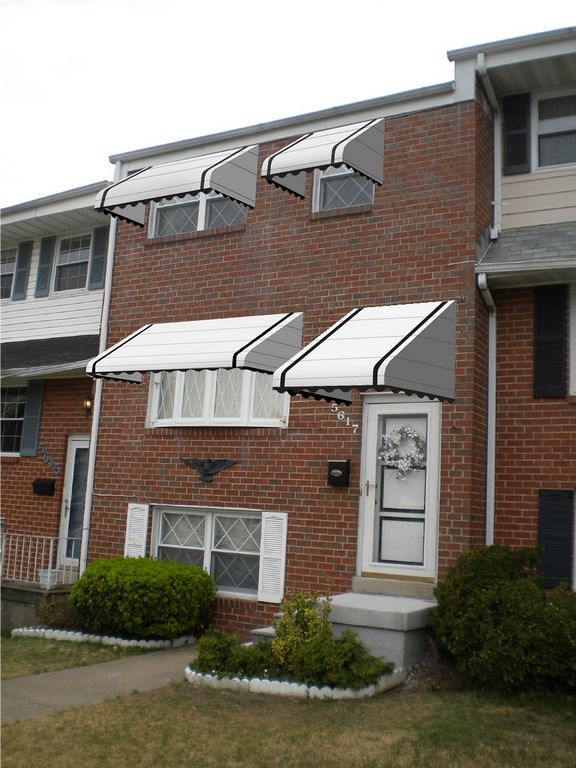 Aluminum Awnings Baltimore Visualize It A Hoffman