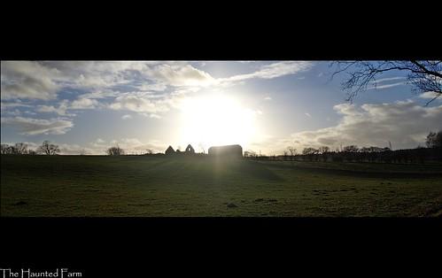 sunset sun field silhouette farm haunted graham mcqueen falkirk ourdaillychallenge