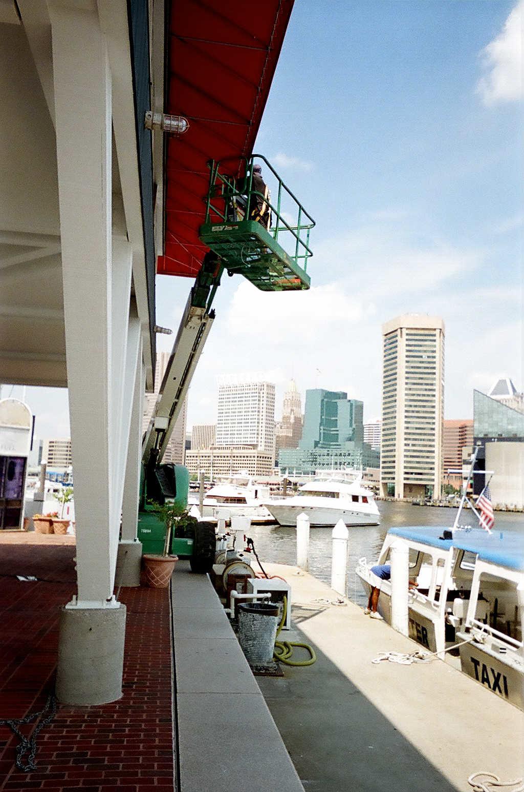 Awning Lift Capabilities-Hoffman Awning-Baltimore