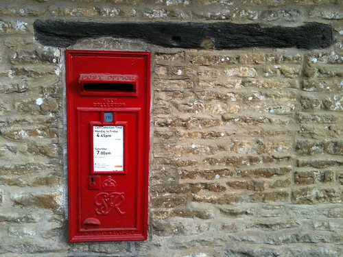 The village postbox at Minster Lovell Village | by Tip Tours