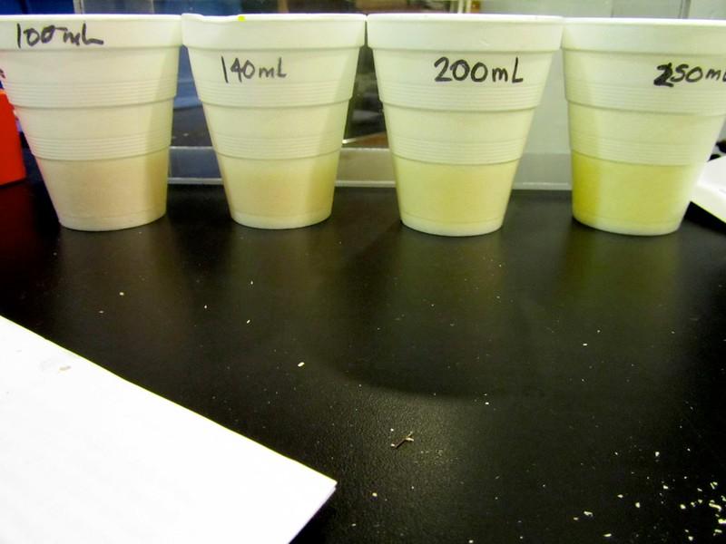 Mixing yellow