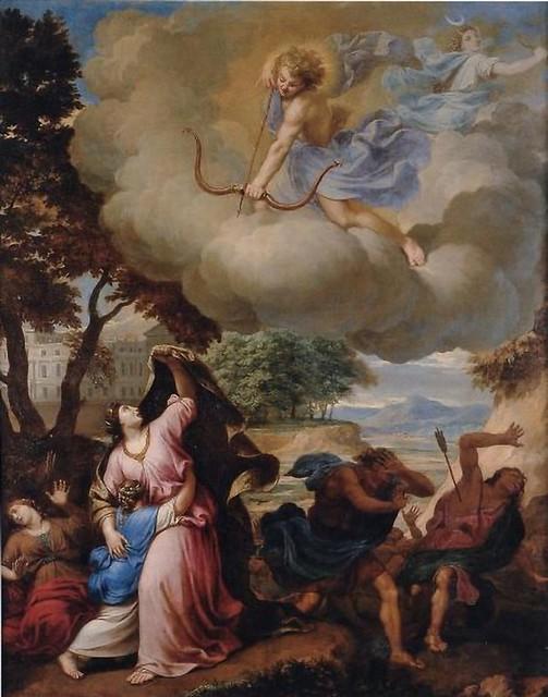 +1680 Ártemis, Apolo y los nióbidas