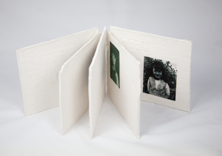 Paper Clay Book Pages Open
