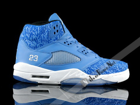 best website 9be96 a2b62 ... Air Jordan 5 Pantone 284 Laser Blue For The Love Of The Game   by  blairlin97