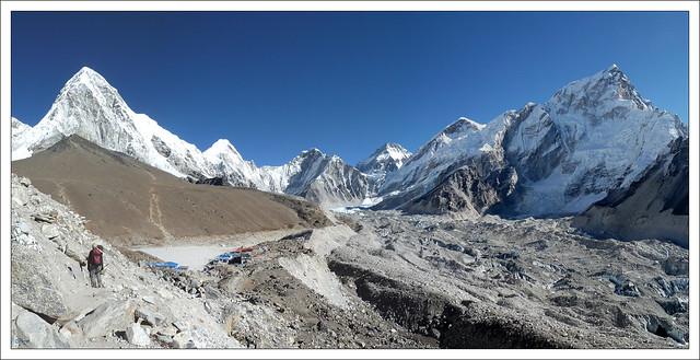 Panoramique Gorak Shep