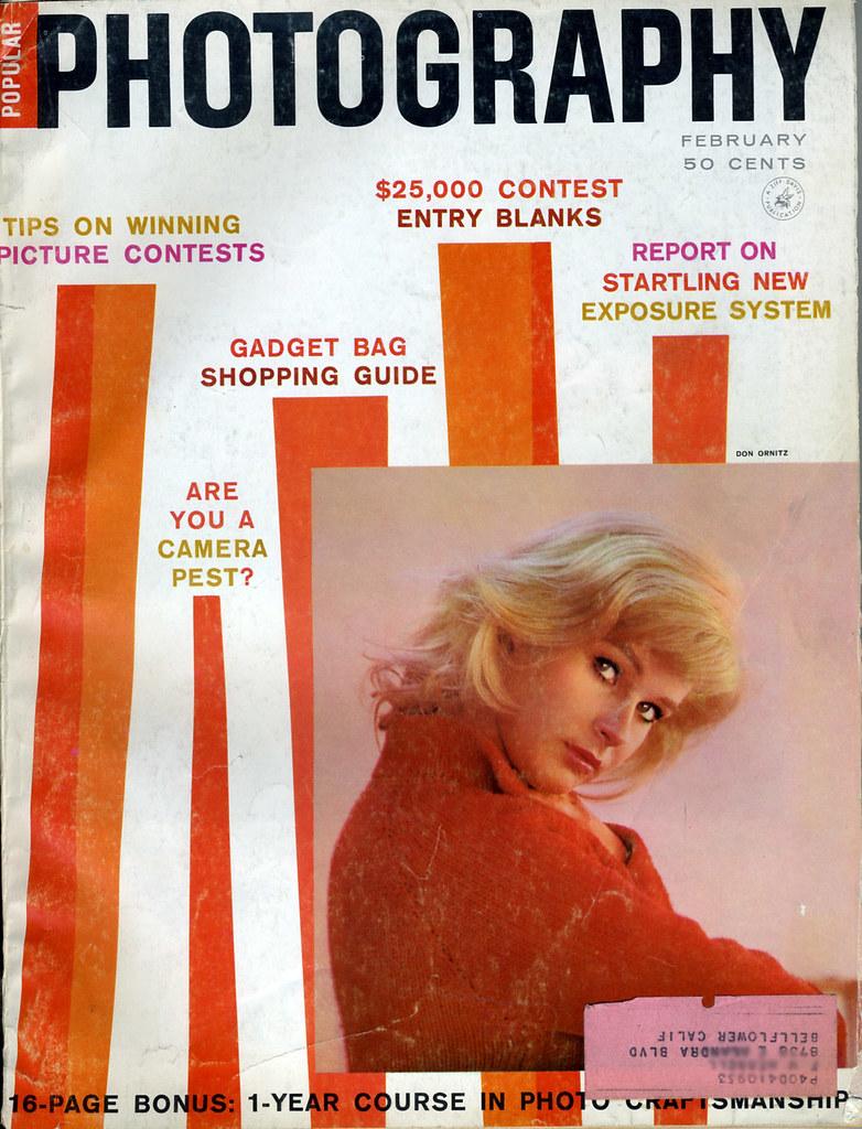 Magazine Cover Popular Photography February 1960